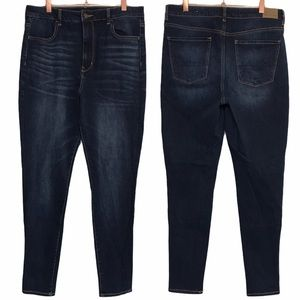 American Eagle Highest Rise Dark Wash Jeans 12